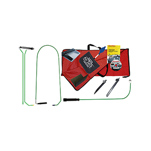 Our very popular tool set that includes virtually all of the tools and accessories needed for a long reach lockout in a compact size and design.