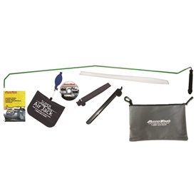 This Jack Set variant includes the larger Super Air Jack� and both sizes of the One Hand Jack tool.