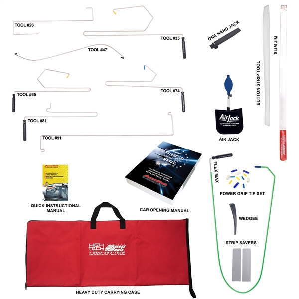 Travel Lockout Kit Auto Lockout Specialty Hand Tools Access Tools