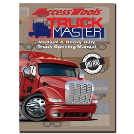 Updated for current year, this manual includes detailed diagrams, images, and step-by-step instructions on how to open every Heavy Duty Truck and Commercial Vehicle on the road since 1979 to present day.