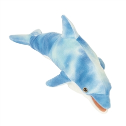 Blue Dolphin Finger Puppet