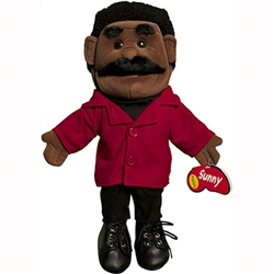 "Dad Puppet, Black (14"")"