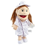 Nurse White Puppet