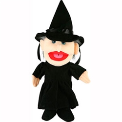 Witch Hand Puppet