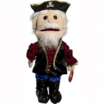 Captain Pirate Hand Puppet