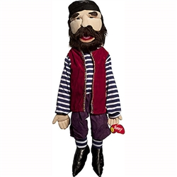 "Pirate Deckhand Puppet (28"")"