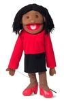 Black Teacher Puppet