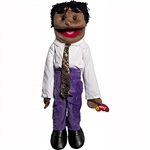 Black Boy w/ Dreads Fullbody Puppet