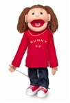 Sunny Girl w/ Red Shirt Puppet