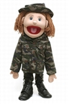 Army Girl Puppet