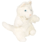 White Cat Glove Puppet