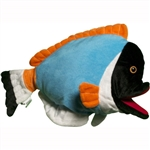Blue Powder Fish Puppet