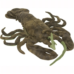 Green Lobster puppet
