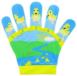 Five Little Ducks Song Mitt