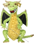Green Enchanted Dragon Puppet