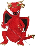 Red Enchanted Dragon Puppet