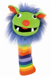 Rainbow Sock Puppet