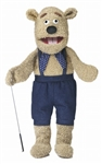Silly Bear Puppet With Arm Rod
