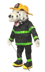 Dalmatian Firefighter - Full Body Puppet