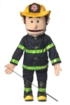 Fireman (Peach) - Full Body Puppet