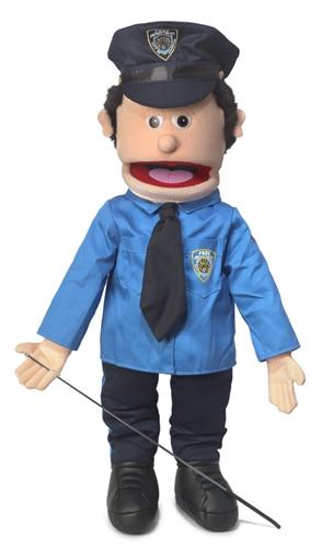 Policeman Peach Full Body Puppet