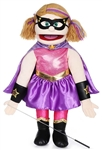 Superhero Girl Puppets