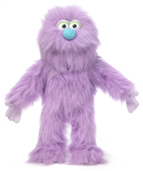 Purple Monster Puppet