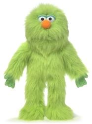 Green Monster Hand Puppet