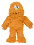 Orange Monster Hand Puppet