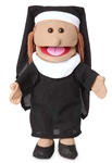 Nun Hand Puppet Hispanic