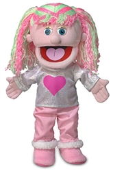 Kimmie - Girl Hand Puppet