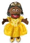 Black Princess Hand Puppet