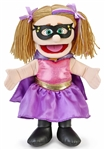 Superhero Girl Hand Puppet