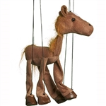 Brown Horse Marionette Small