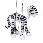 White Tiger Marionette Small