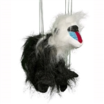Mandrill Monkey Marionette Small