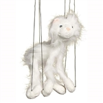 White Cat Marionette Small