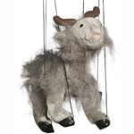Grey Goat Marionette Small