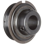 "Sealmaster ER-12 Cylindrical OD Bearing, Setscrew Locking Collar, Light Contact Felt Seals, 3/4"" Bore, 47 mm OD, 1-7/32"" Width"