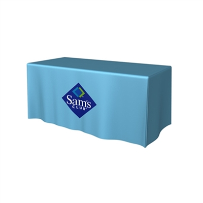 6ft 3-Sided Table Throw Full Color Thermal Print