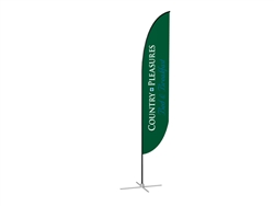 Feather Banner Single-Sided