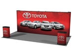 20.4 Straight 20ft Popup Display