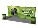 20.6 Curve-To-Straight 20ft Popup Display