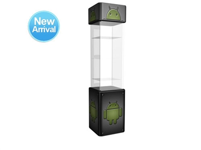 SOLO Square Glass Display Case