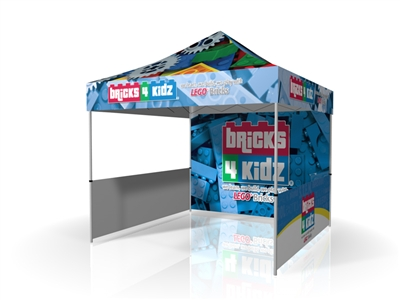 Bricks4Kidz 10ft Event Tent Full Dye Sub