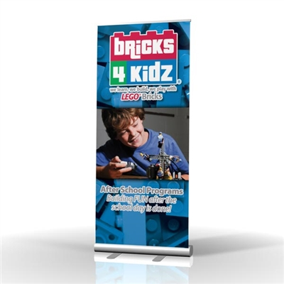 Bricks 4 Kidz Camp Retractable Banner Stand