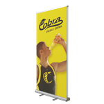 Retractable Double Sided Bannerstand 2 39.4""