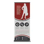 Retractable Bannerstand 4 33.5""