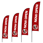 Brandstand Blade Flags
