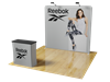 8ft Waveline Straight Backwall Display PRO Kit